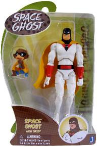 Hanna Barbera 6 Inch Action Figure Space Ghost With Blip