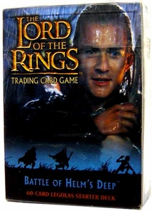 Lord of the Rings Card Game Theme Starter Deck Battle of Helm's Deep Legolas