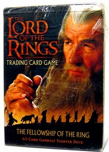Lord of the Rings Card Game Theme Starter Deck The Fellowship of the Ring Gandalf