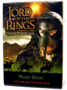 Lord of the Rings Card Game Theme Starter Deck Mount Doom Sam