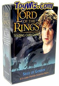 Lord of the Rings Card Game Theme Starter Deck Siege of Gondor Pippin