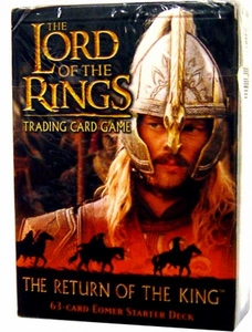 Lord of the Rings Card Game Theme Starter Deck The Return of the King Eomer