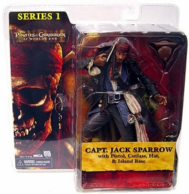 NECA Pirates of the Caribbean At World's End Series 1 Action Figure Capt. Jack Sparrow BLOWOUT SALE!