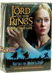 Lord of the Rings Card Game Theme Starter Deck Battle of Helm's Deep Eowyn