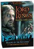 Lord of the Rings Card Game Theme Starter Deck Realm of the Elf-Lords Boromir