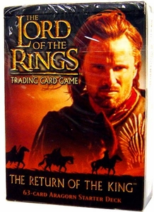 Lord of the Rings Card Game Theme Starter Deck The Return of the King Aragorn