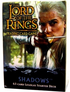 Lord of the Rings Card Game Shadows Theme Starter Deck Legolas