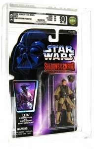 Star Wars Shadows of the Empire Princess Leia [Boushh Disguise] AFA Graded 90 BLOWOUT SALE!