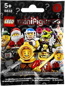 LEGO Minifigure Series 8 Mystery Pack