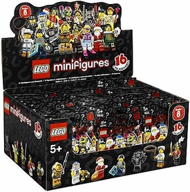 LEGO Minifigure Series 8 Mystery Box [60 Packs]