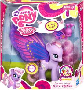 My Little Pony Deluxe Figure Glimmer Wings Daisy Dream