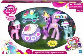 My Little Pony Exclusive Tea Time 3-Pack Princess Celestia, Pinkie Pie & Rainbow Dash
