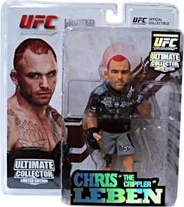 Round 5 UFC Ultimate Collector Series 9 LIMITED EDITION Action Figure Chris Leben Only 1,500 Made!