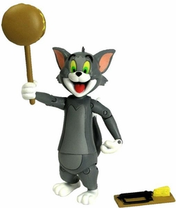 Hanna Barbera 6 Inch Action Figure Tom [Hammering Action]