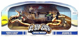 Star Wars Galactic Heroes Deluxe Cinema Scene Mini Figure Multi Pack Pit of Carkoon [Jabba's Skiff]