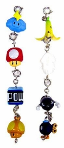 Mario Kart Wii Set of 8 Charms