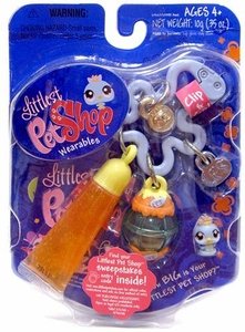 Littlest Pet Shop Teeniest Tiniest Wearables Bird with Lip Gloss