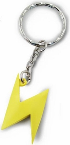 Super Mario Kart Wii Volume 2 Soft PVC Keychain Lightning Bolt