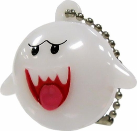 New Super Mario Wii Light Up Collection 2 Keychain Boo