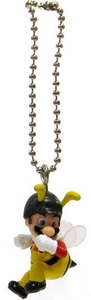 Super Mario Galaxy 2 Mario Collection 1 Inch Micro Keychain Bee Suit Mario