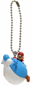 Super Mario Galaxy 2 Mario Collection 1 Inch Micro Keychain Blimp Yoshi