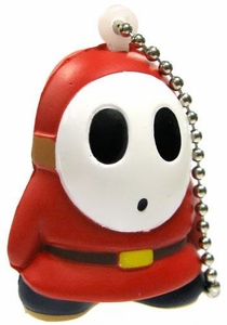 Super Mario Galaxy 2 Mini Foam Figure Keychain Shyguy
