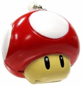 Super Mario Galaxy 2 Mini Foam Figure Keychain Super Mushroom