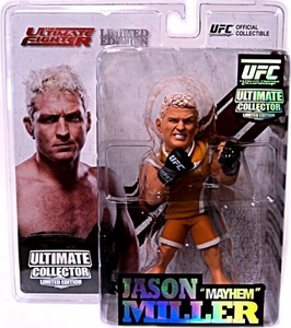 Round 5 UFC Ultimate Collector Series 9 LIMITED EDITION Action Figure Jason Miller [TUF Jersey] Only 750 Made!