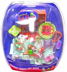 Littlest Pet Shop Teeniest Tiniest Reptiles 3-Pack Frog, Crab & Lizard