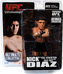 Round 5 UFC Ultimate Collector Series 9 Action Figure Nick Diaz [UFC Edition]