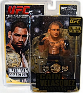 Round 5 UFC Ultimate Collector Series 9 CHAMPIONSHIP EDITION Action Figure Cain Velasquez [Includes Belt!]