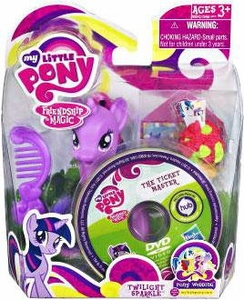 My Little Pony Wedding Figure Twilight Sparkle & DVD