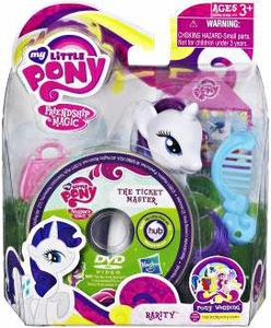 My Little Pony Wedding Figure Rarity & DVD