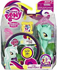 My Little Pony Wedding Figure Lyra Heartstrings & DVD