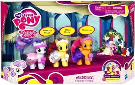 My Little Pony Wedding Playset Wedding Flower Fillies [Sweetie Belle, Apple Bloom & Scootaloo]