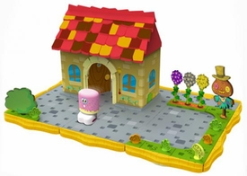 Moshi Monsters Bobble Bots Playset Moshi Monster House with Oddie [750 Rox]