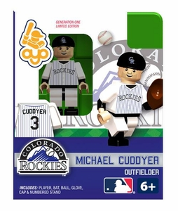 OYO Baseball MLB Building Brick Minifigure Michael Cuddyer [Colorado Rockies]