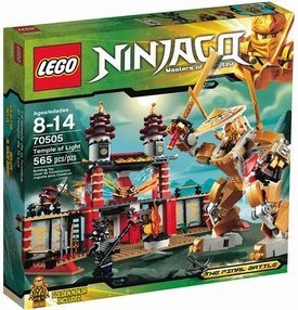 LEGO Ninjago Set #70505 Temple of Light