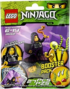 LEGO Ninjago Booster Pack Set #9552 Lloyd Garmadon {Green Ninja!} [Bagged]