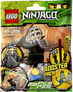 LEGO Ninjago Booster Pack Set #9551 Kendo Cole [Bagged]