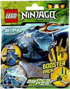LEGO Ninjago Booster Pack Set #9553 Jay ZX [Bagged]