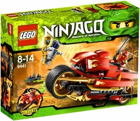 LEGO Ninjago Set #9441 Kai's Blade Cycle