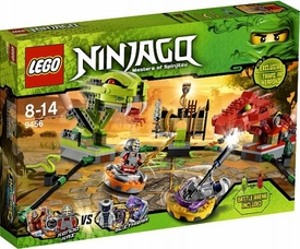 LEGO Ninjago Exclusive Set #9456 Spinner Battle