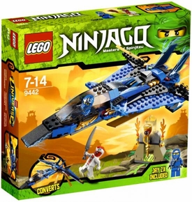 LEGO Ninjago Set #9442 Jay's Storm Fighter