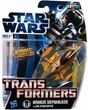 Star Wars Action Figures 2012 Transformers Crossovers