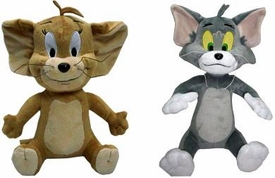 Hanna Barbera 12 Inch Deluxe Plush Figure Set Tom & Jerry