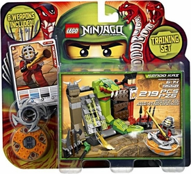 LEGO Ninjago Set #9558 Kendo Kai Training Set [8 Weapons!]