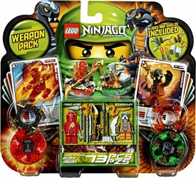 LEGO Ninjago Set #9591 Weapon Pack [NRG Kai & Chokun Minifigures!]