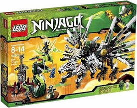 LEGO Ninjago Set #9450 Epic Dragon Battle