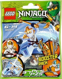 LEGO Ninjago Booster Pack Set #9554 Zane ZX [Bagged]